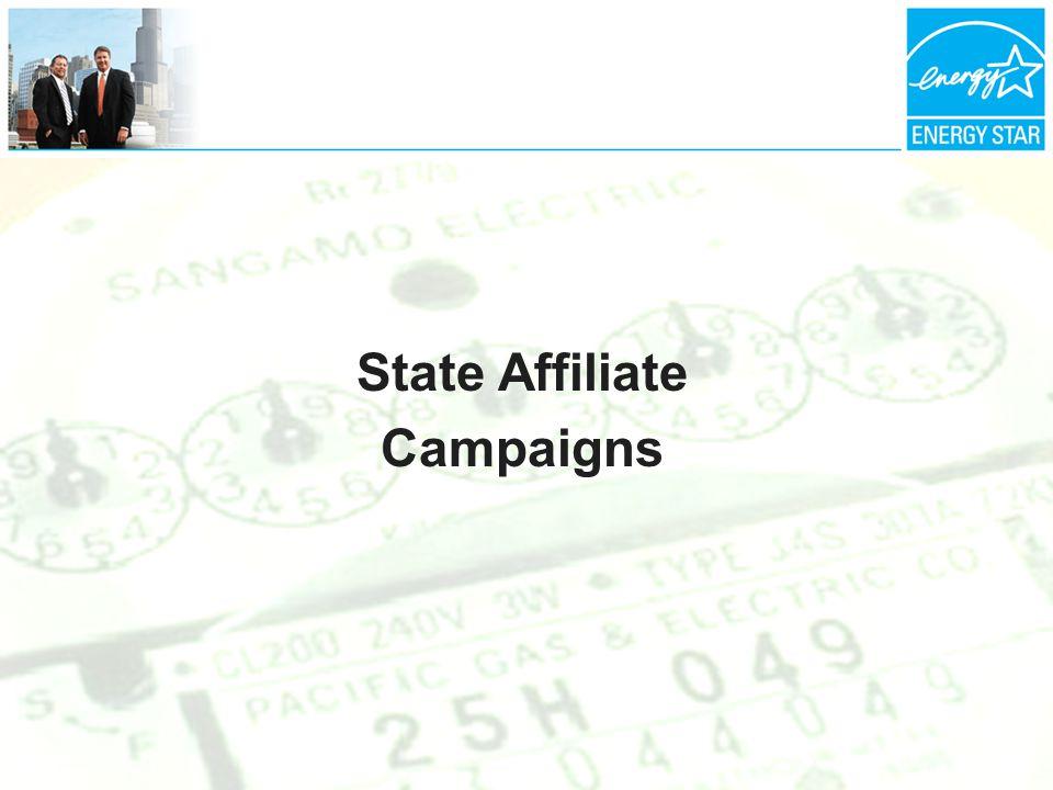 State Affiliate Campaigns