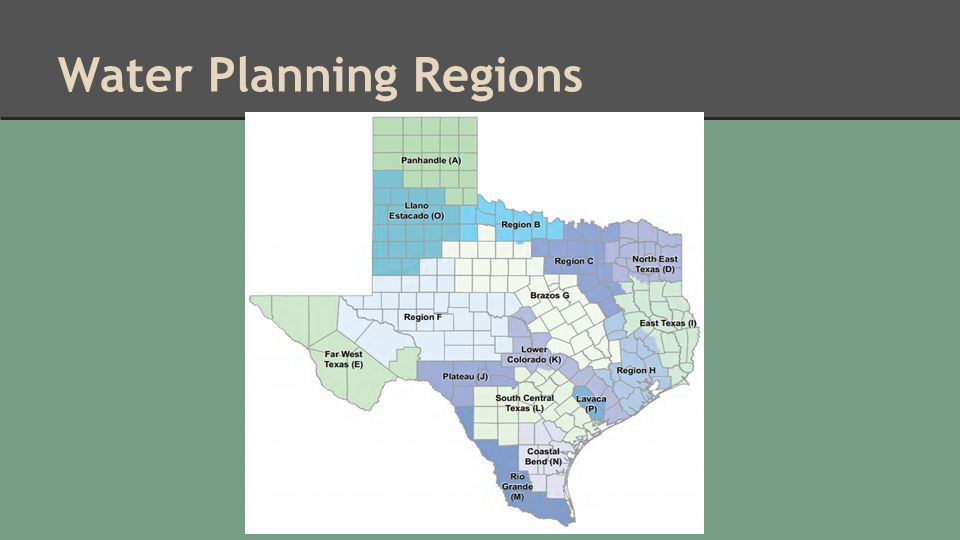 Water Planning Regions