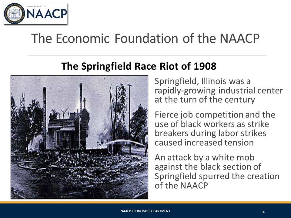 NAACP Economic Department Financial Educatio n Fair Lending Diversity & Inclusion Community & Economic Development NAACP ECONOMIC DEPARTMENT 13