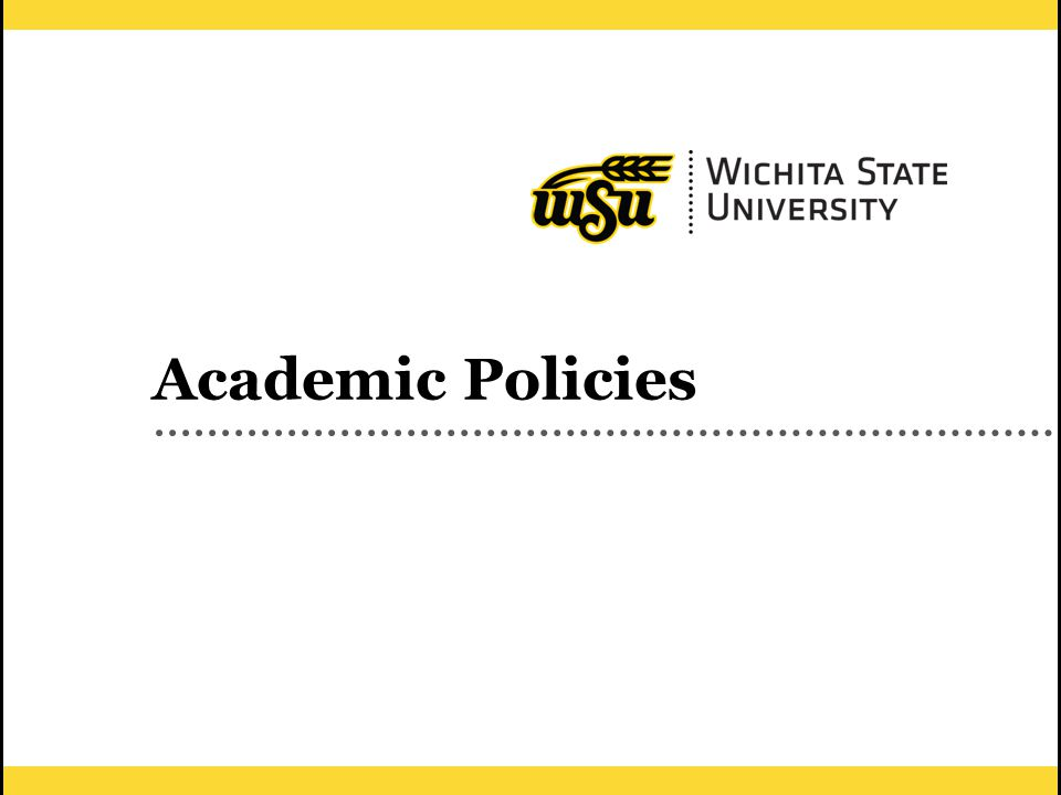 31 Academic Policies