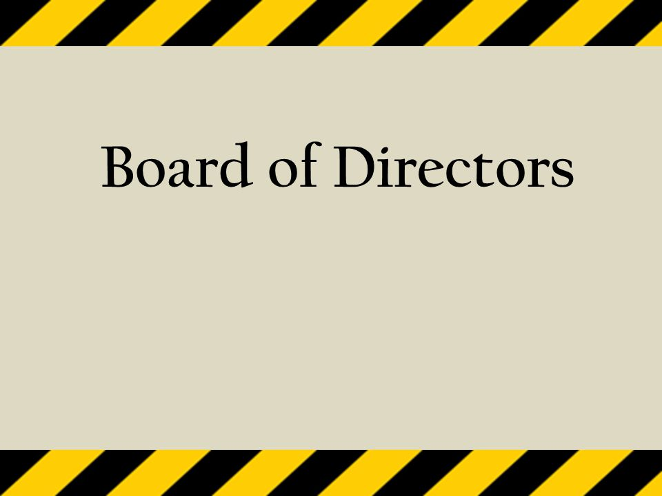 State Board of Directors  Elected for a three year term  Also serves as a Division and District Director  Establishes policies and governs the affairs of the Association  Adopts the Association's budget  Approves the Association's legislative program  Approves new members, resignations and expulsions  Annually elects officers of the Association  Annually establishes or sunsets standing state committees  Creates and maintains a decision-making structure for Association policy development