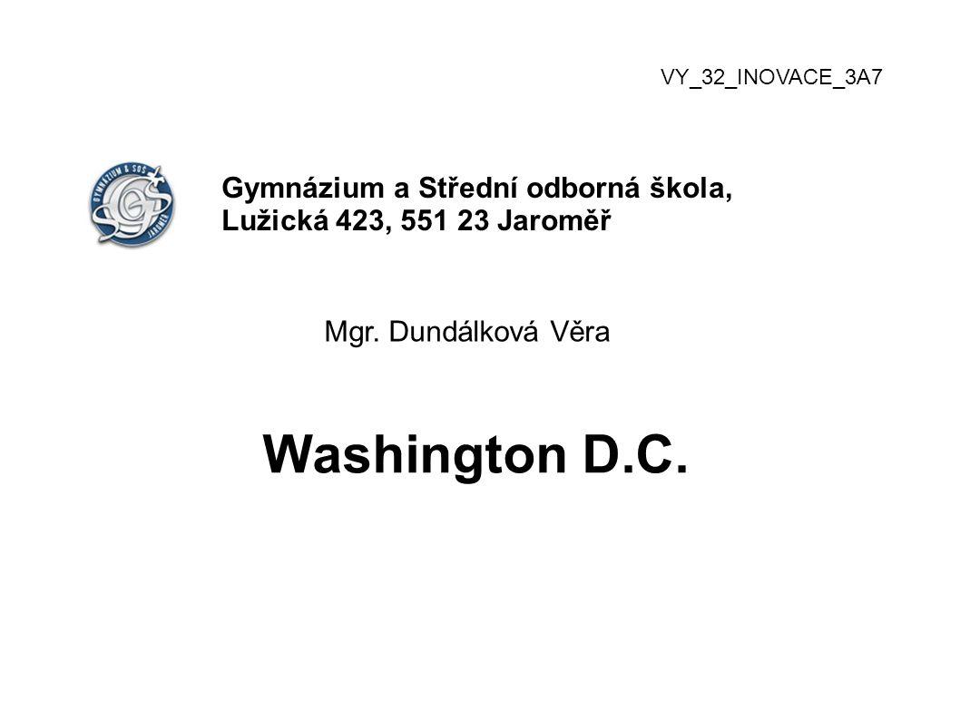 VY_32_INOVACE_3A7 Gymnázium a Střední odborná škola, Lužická 423, 551 23 Jaroměř Mgr.