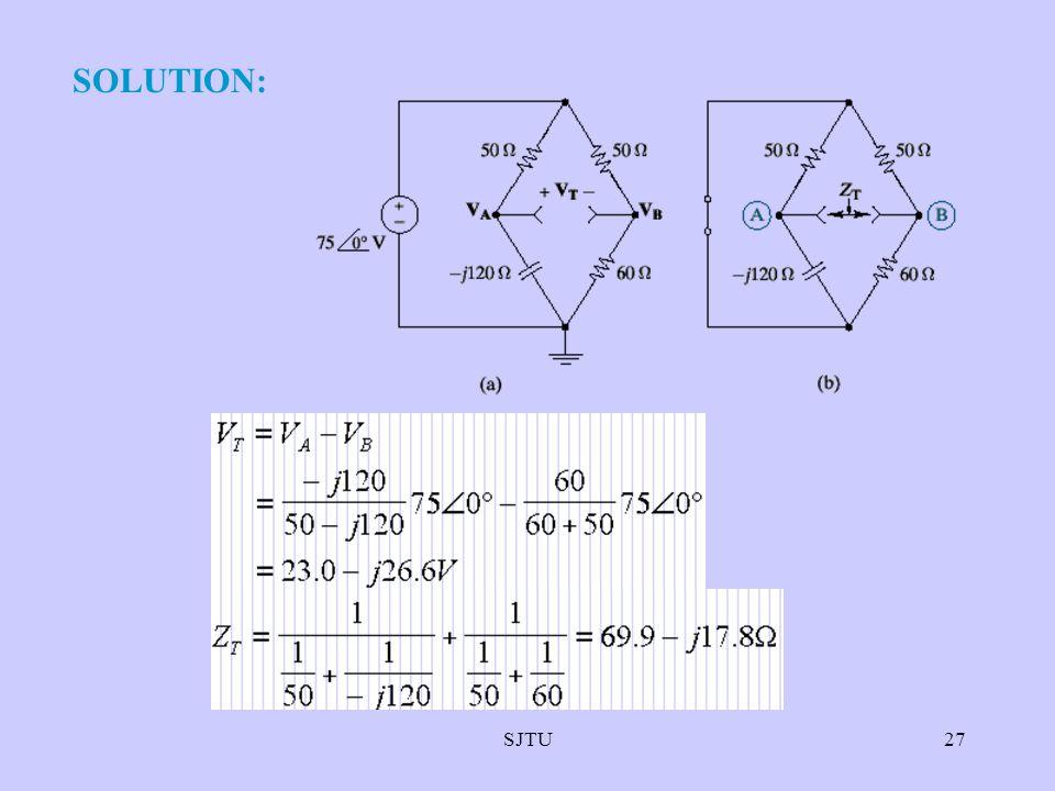 SJTU27 SOLUTION: