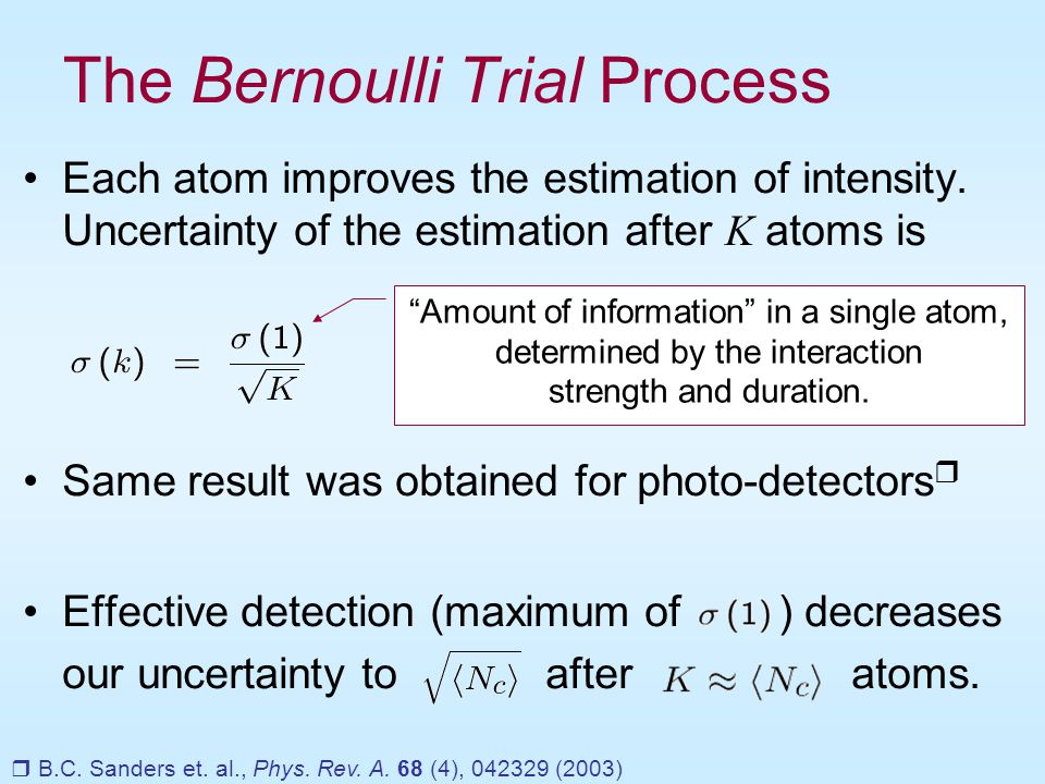 Simulation: Dynamics is not affected by the measurement.