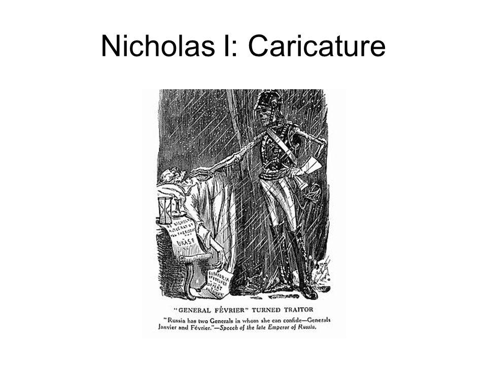 Nicholas I: Caricature