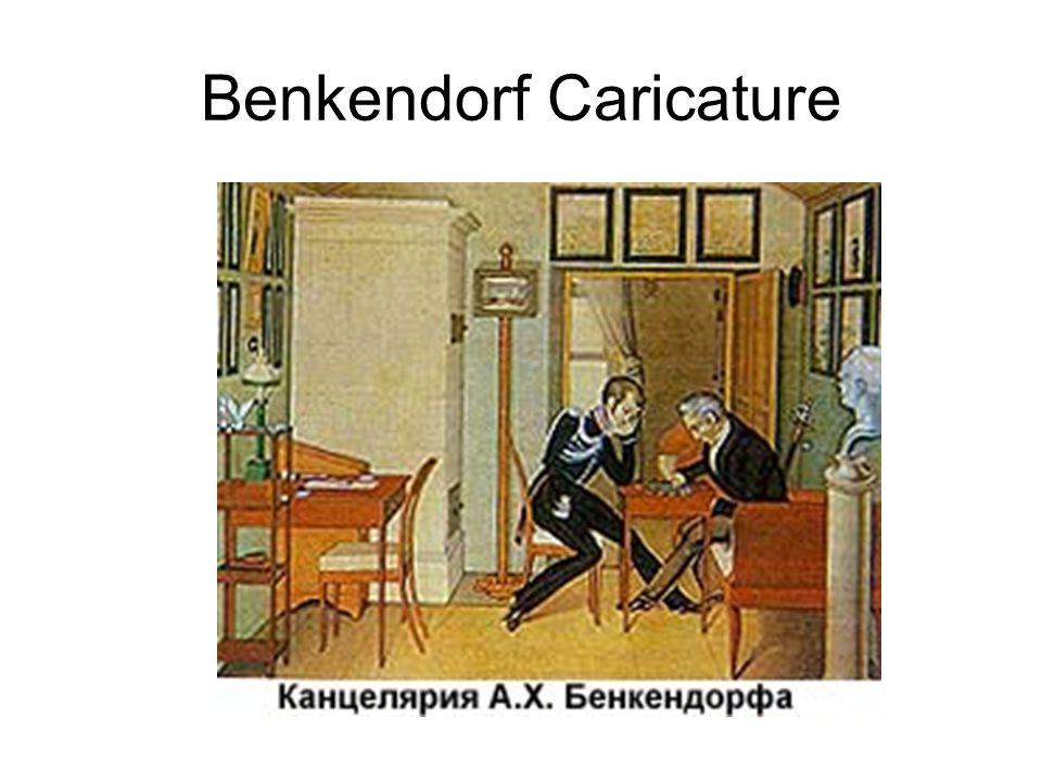 Benkendorf Caricature