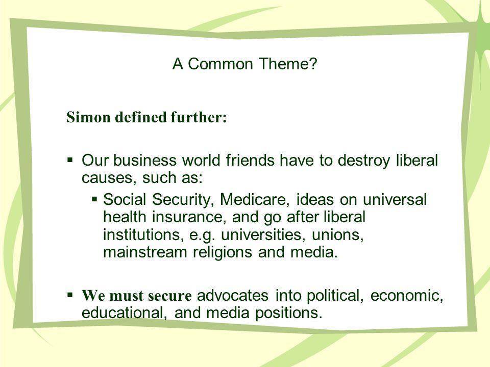 A Common Theme.