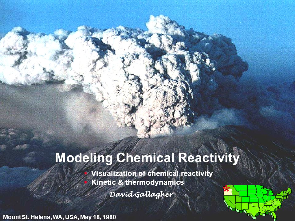 22 © David Gallagher 2002 Reactant Product 2.
