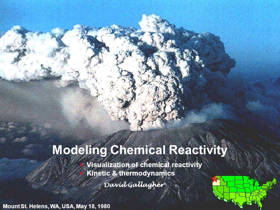 12 © David Gallagher 2002 Visualization of Reactivity * K.