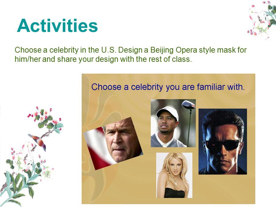 Choose a celebrity in the U.S.