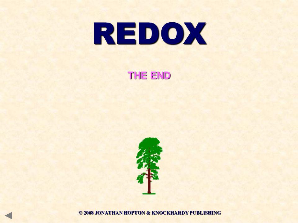 REDOX THE END © 2008 JONATHAN HOPTON & KNOCKHARDY PUBLISHING