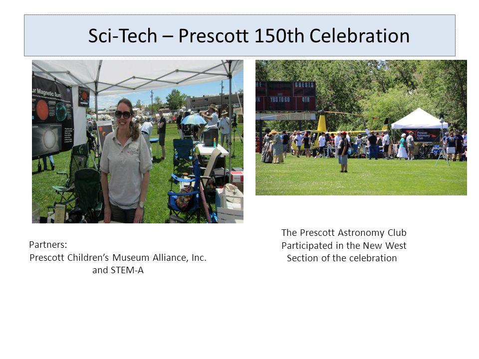 Sci-Tech Sci-Tech – Prescott 150th Celebration Viewing the Sun through a variety of media