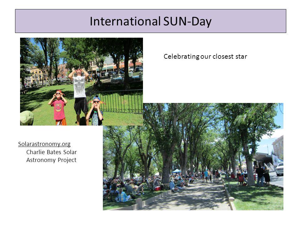 International SUN-Day NASA NightSky Education kits