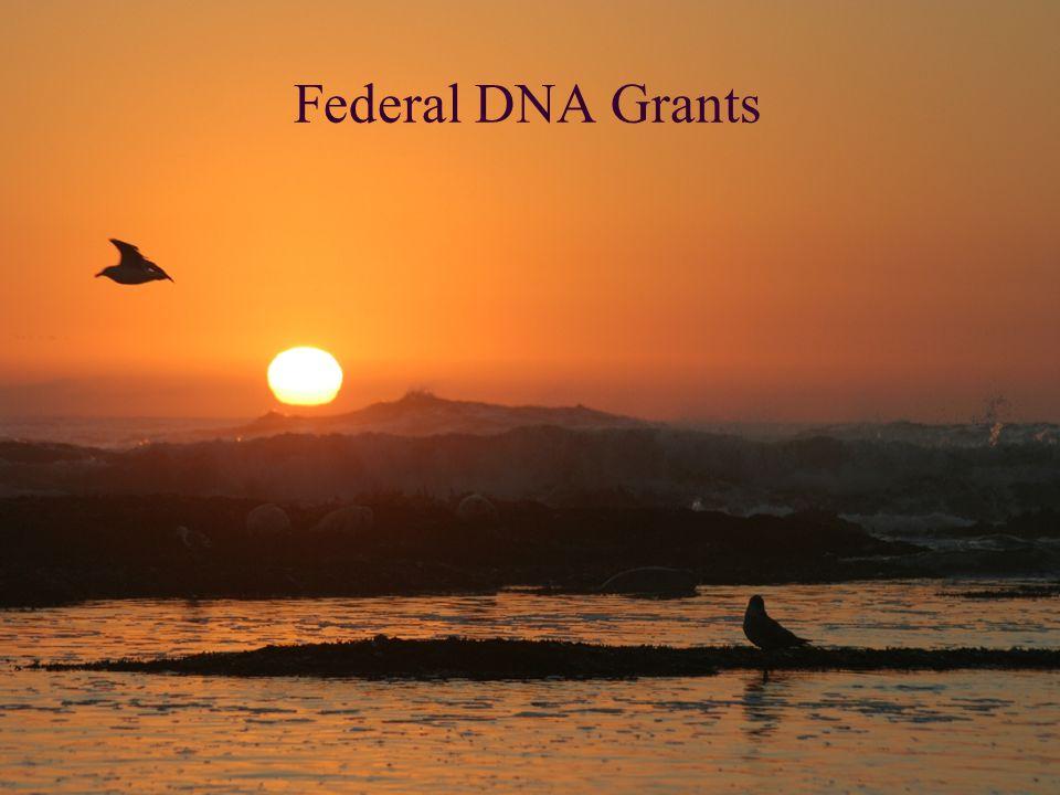Federal DNA Grants