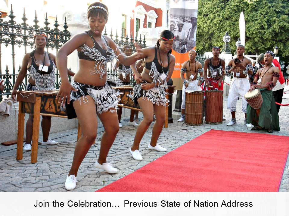 Join the Celebration… Previous State of Nation Address