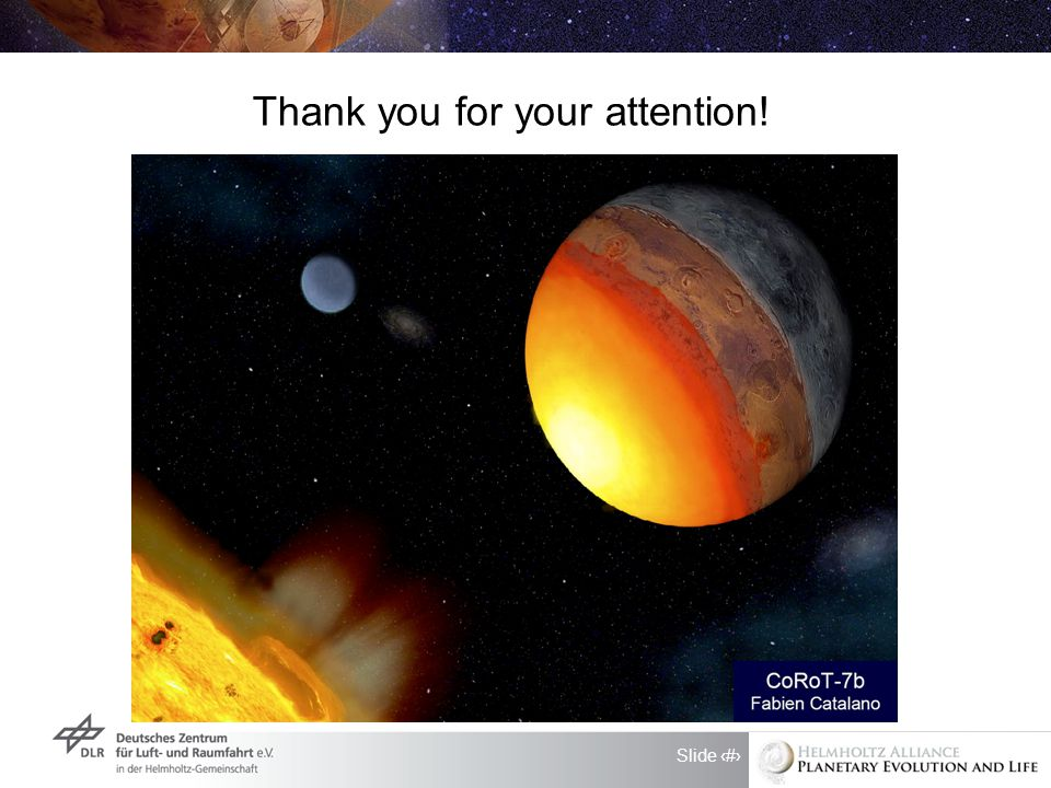 Slide 10 Thank you for your attention!