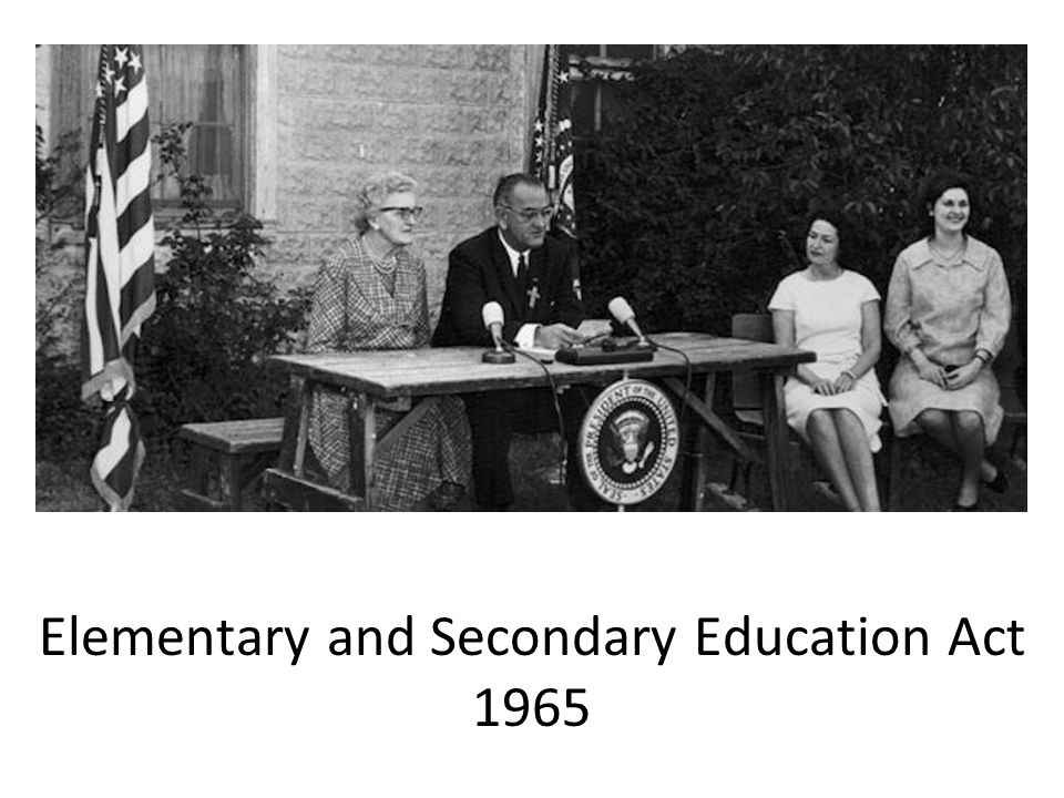 Elementary and Secondary Education Act 1965