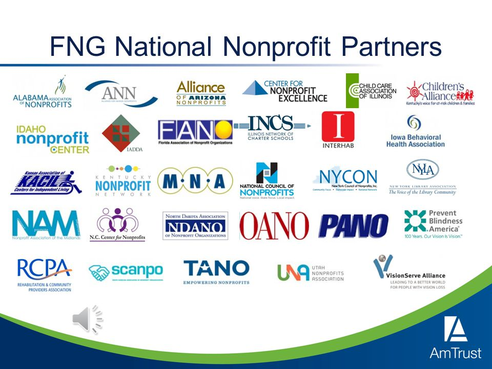 First Nonprofit Group An AmTrust Financial Company Based in Chicago, Illinois Our State Unemployment Insurance (SUI) programs serve more than 1,600 nonprofits across the country, covering in excess of 300,000 employees.