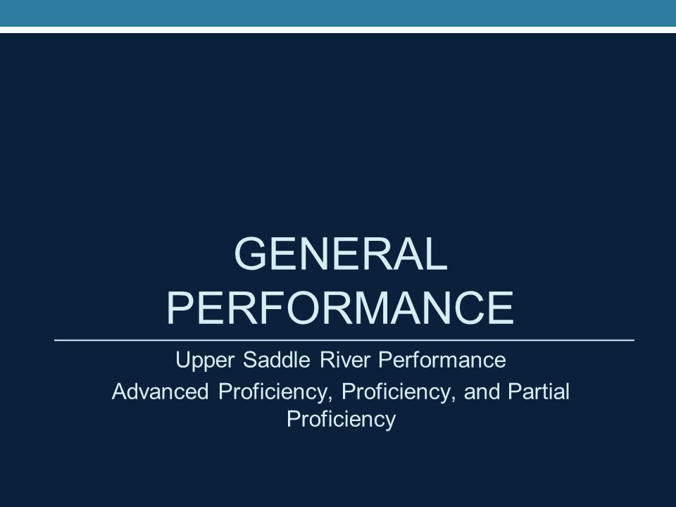 NJASK General Performance (2013- 2014) Language Arts Gr.Adv.
