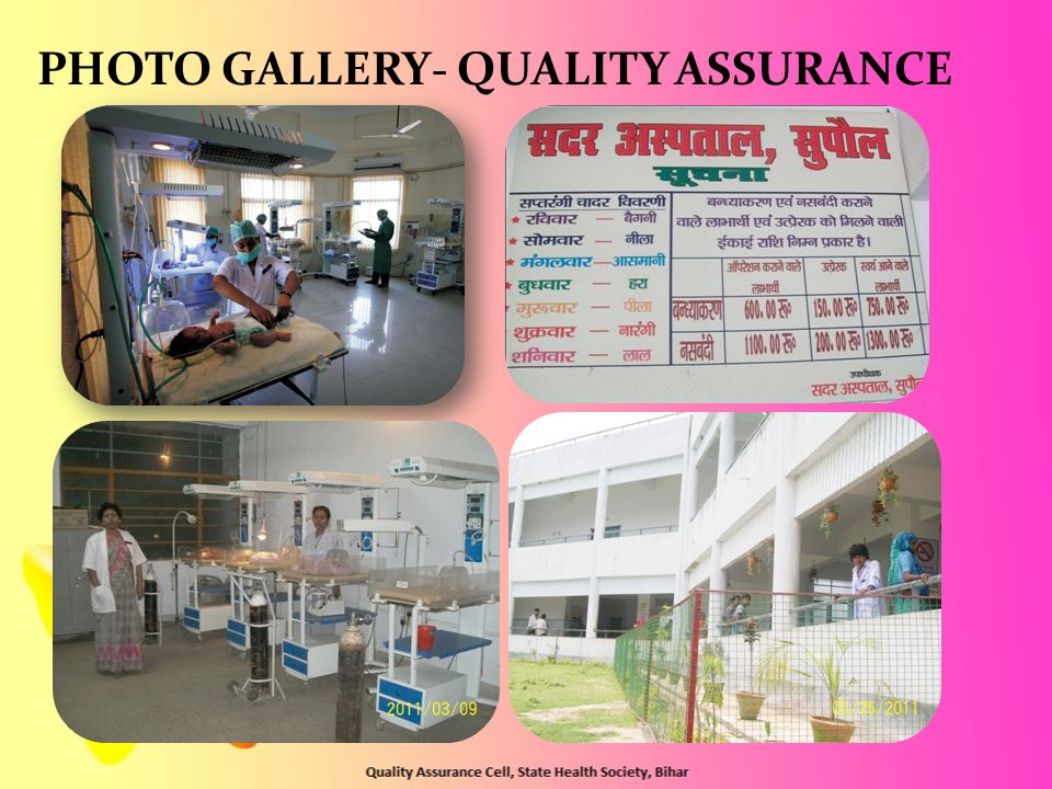 PHOTO GALLERY- QUALITY ASSURANCE