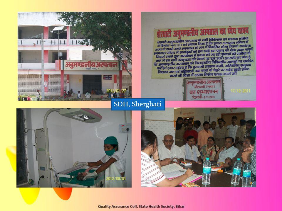 SDH, Sherghati