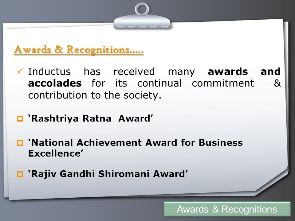 Your Logo Awards & Recognitions.....