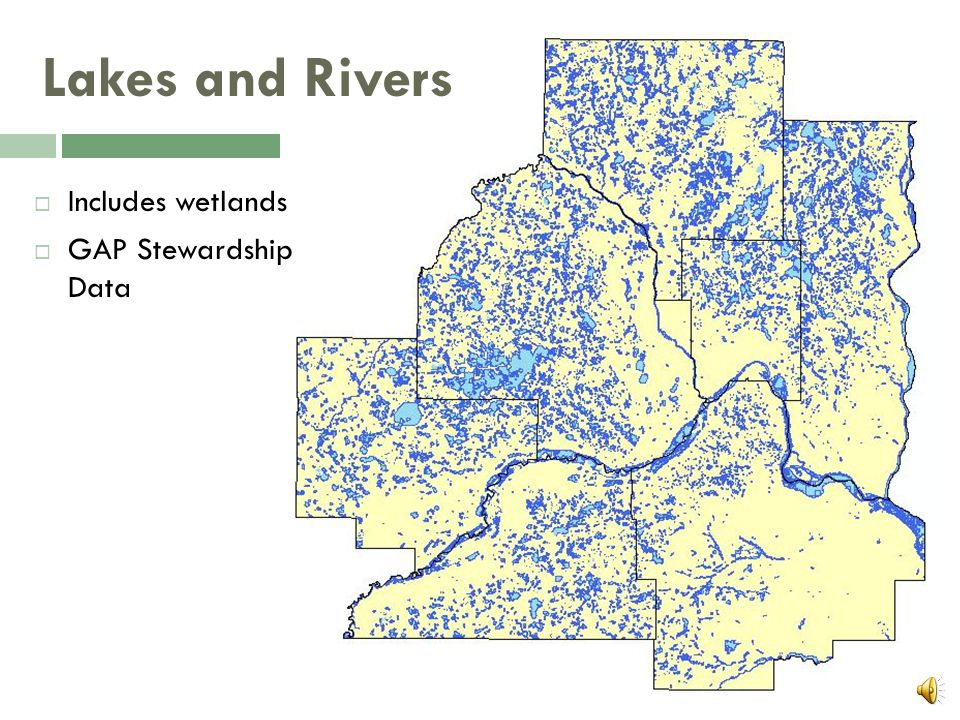 State Protection Levels  Level of Protection  GAP Data from MN DNR  Land ownership