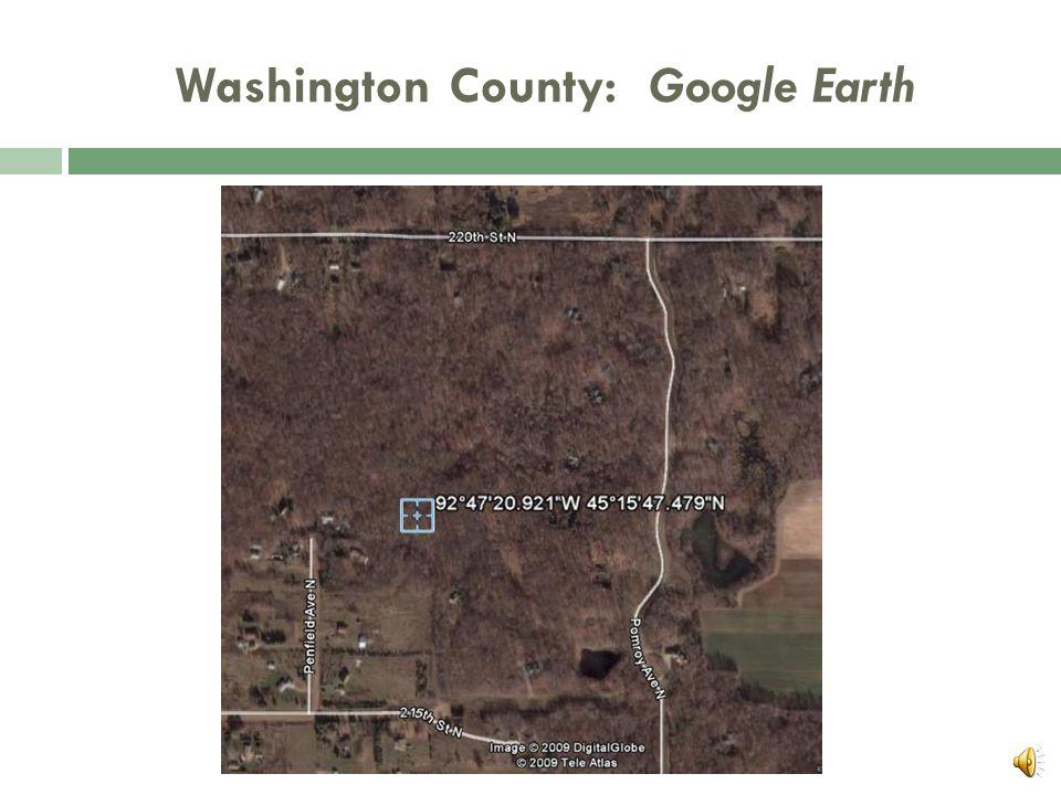 Northern Washington County  1,086 tons Carbon = Window SUM