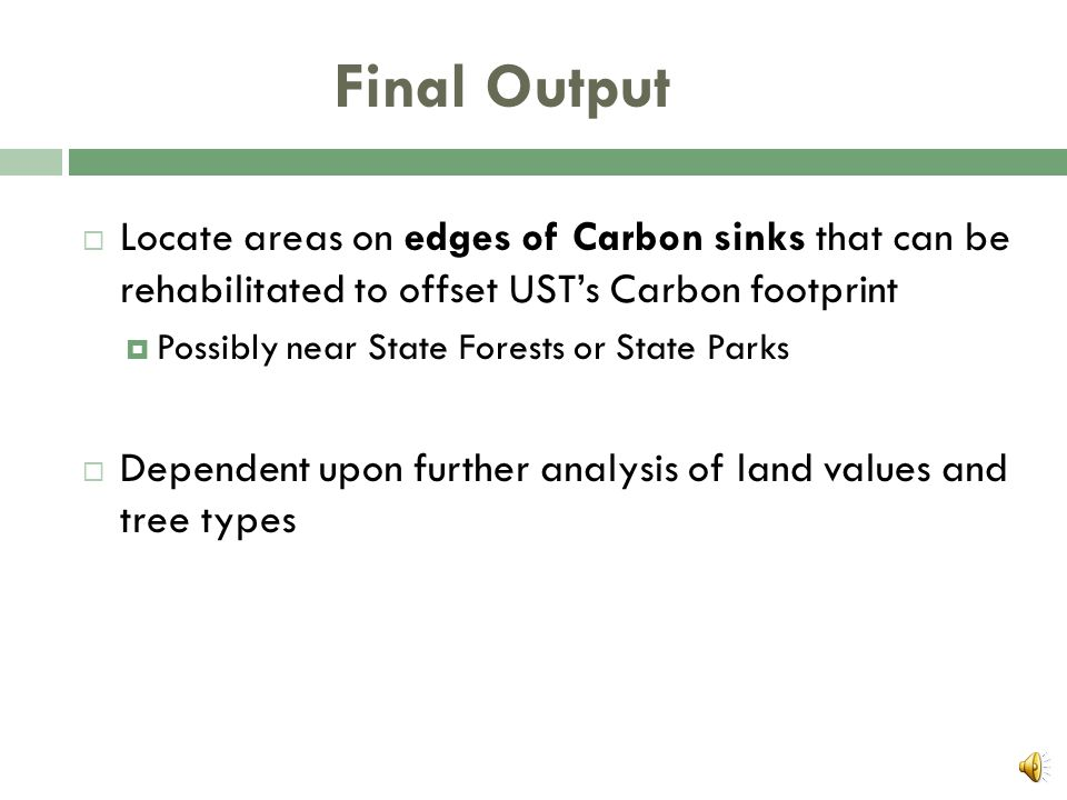 Standard Deviation  Much like Spatial Filter  Not high Carbon levels, but differences in Carbon levels  Relative variation  Example: Used oftentim
