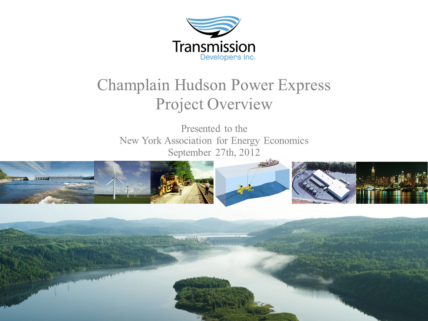www.chpexpress.com 2 Champlain Hudson Power Express Advancing the Application of Economics