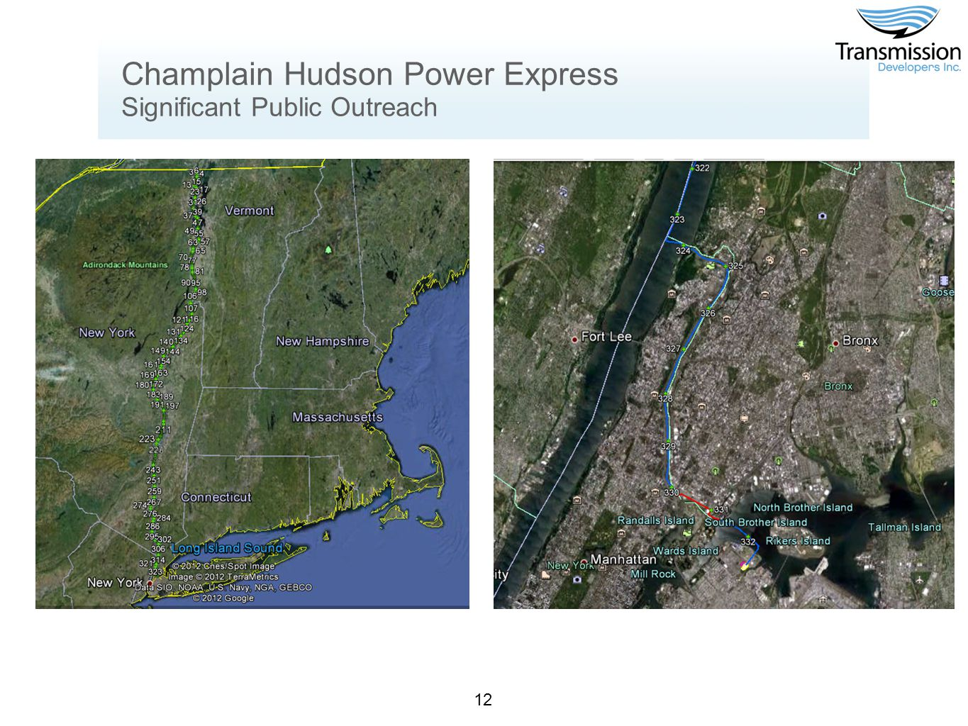 12 Champlain Hudson Power Express Significant Public Outreach