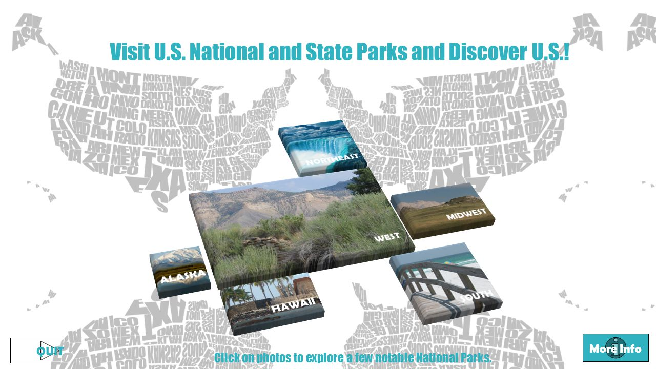 Visit U.S. National and State Parks and Discover U.S..