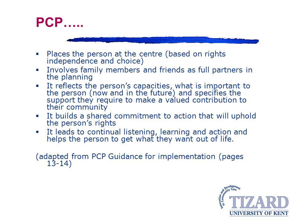 PCP…..