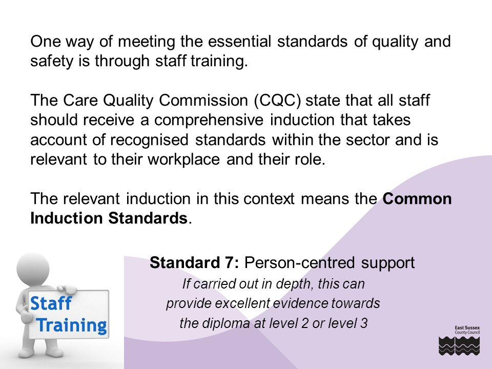 Diploma in Health and Social Care Mandatory units Level 2: Implement person centred approaches in health and social care Level 3: Promote person centred approaches in health and social care Level 5: Lead person centred practice