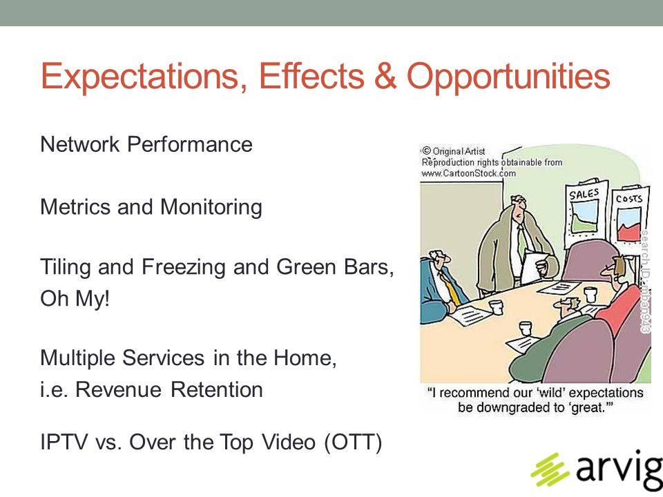 Expectations, Effects & Opportunities IPTV vs.