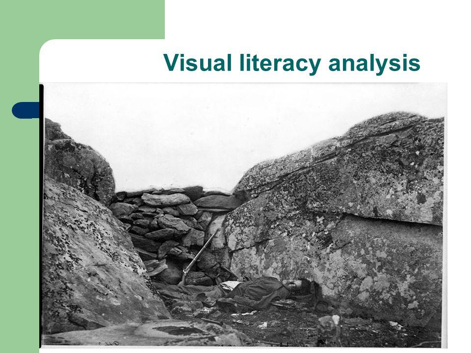 Visual literacy analysis