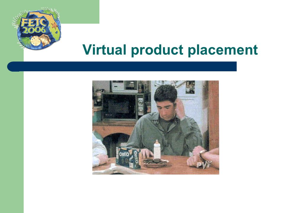 Virtual product placement
