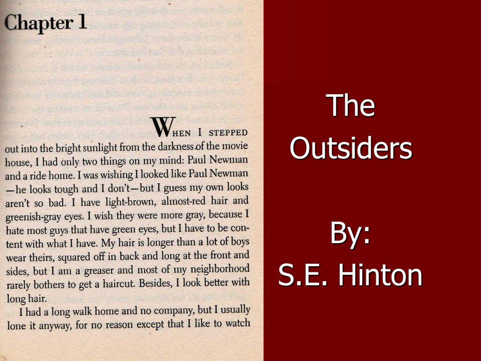 TheOutsidersBy: S.E. Hinton