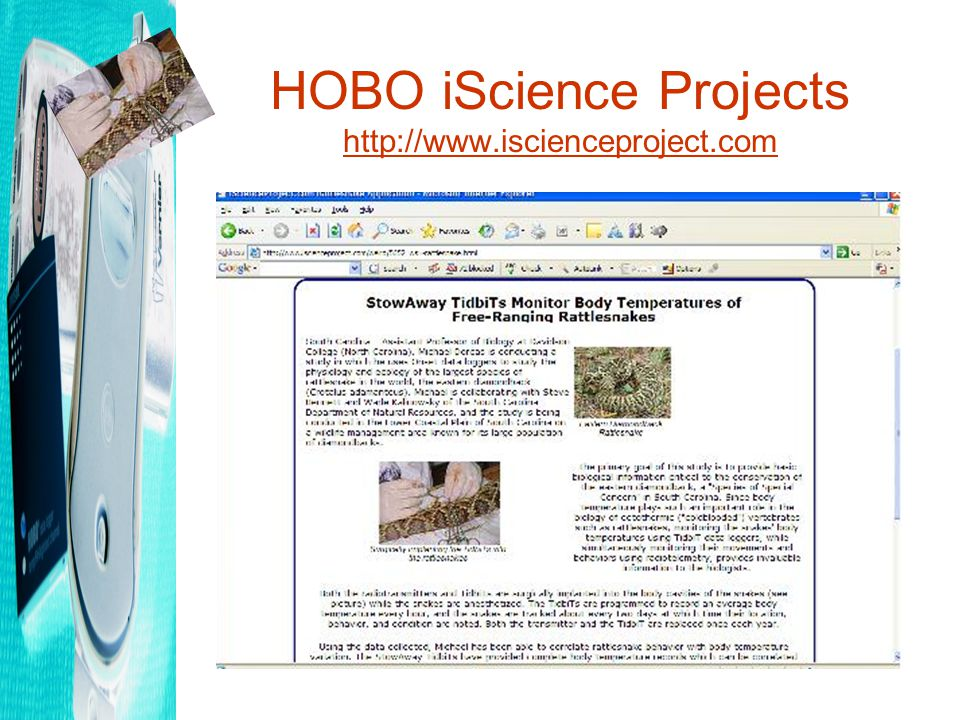 HOBO iScience Projects http://www.iscienceproject.com http://www.iscienceproject.com