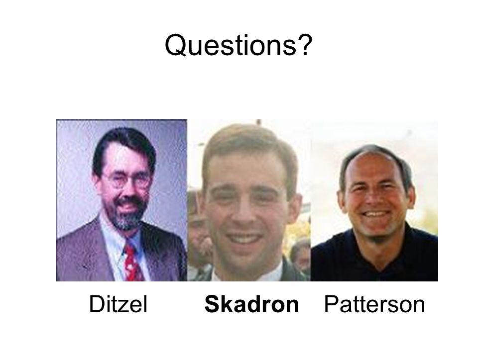 Questions? DitzelSkadronPatterson
