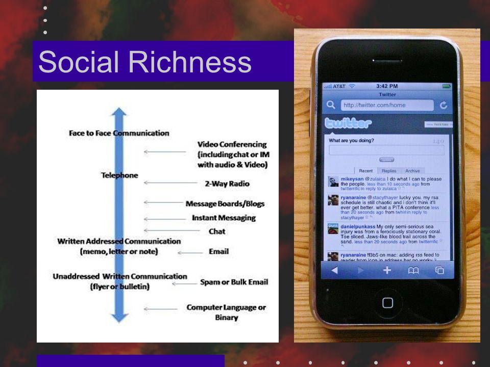 Social Richness