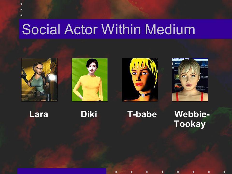 Social Actor Within Medium Lara Diki T-babe Webbie- Tookay