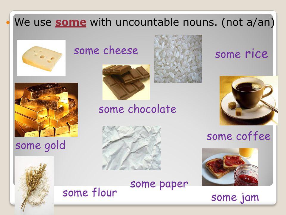 Foods Liquids Materials