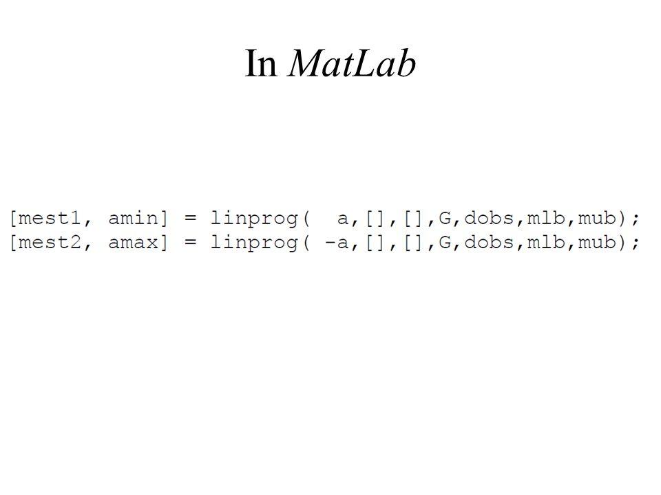 In MatLab