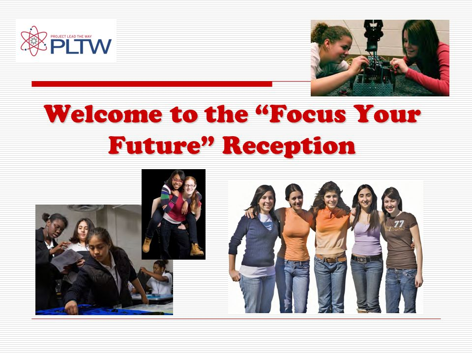 Welcome to the Focus Your Future Reception