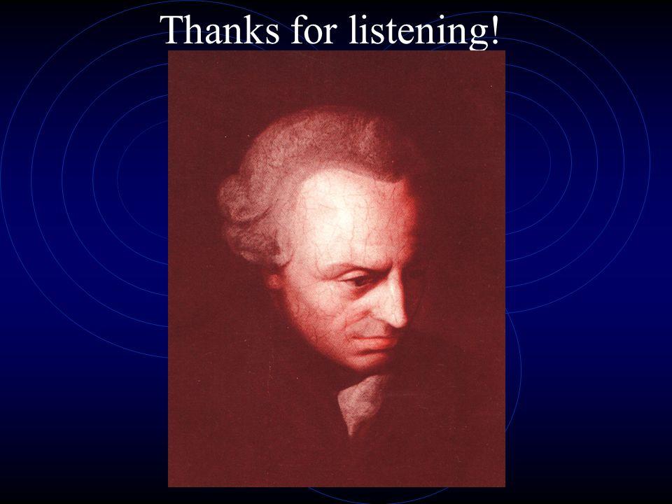 Thanks for listening!