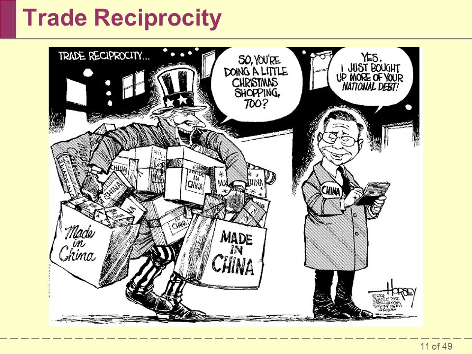 11 of 49 Trade Reciprocity
