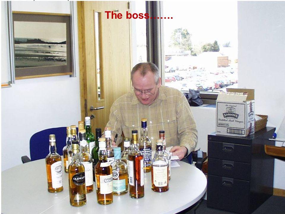 7 The boss…….