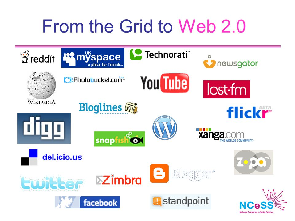 From the Grid to Web 2.0