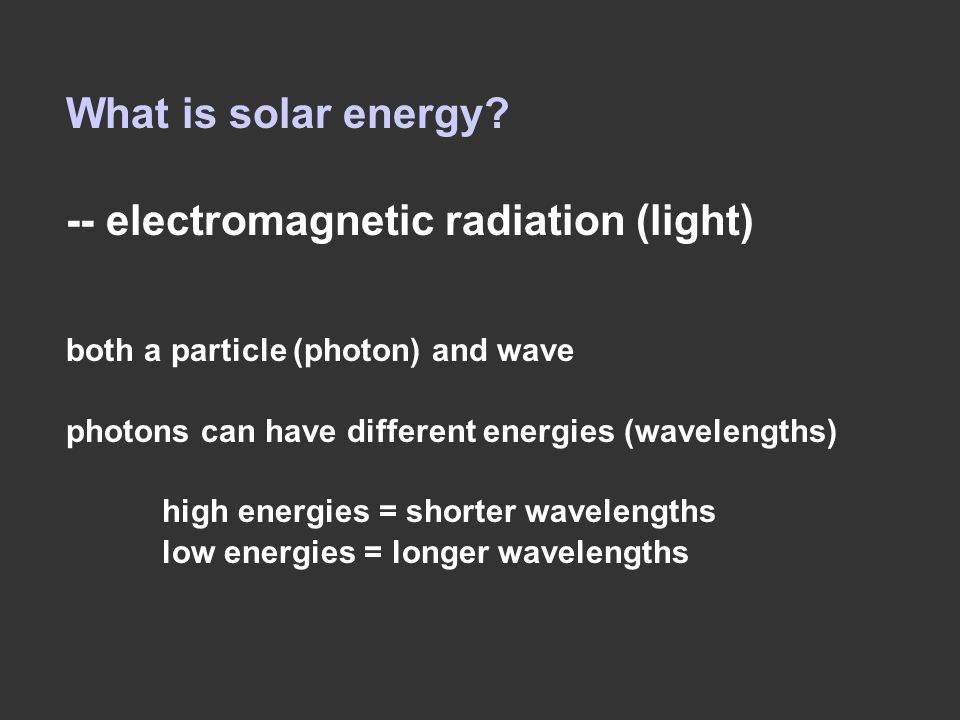 Electromagnetic spectrum: describes what light of different wavelengths is called